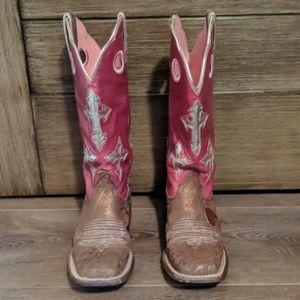 Ariat Ranchero Square Toe Cowboy Boots